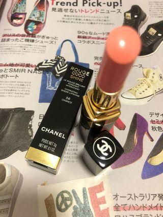 Chanel Lipstick Coco Shine 56 Chance 香奈兒 唇膏 全新