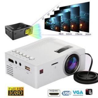 Portable LED Cinema Video Digital HD Home Theatre Projector Beamer