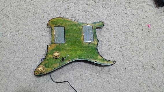 Fender Loaded Pickguard with Epiphone Pups