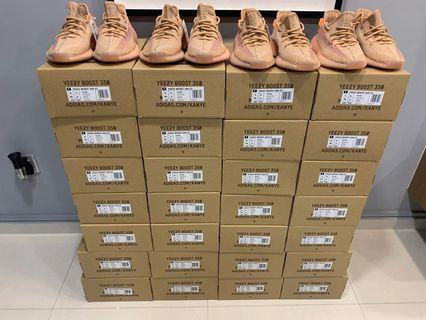 Adidas Yeezy 350 v2 Clay <US 4 - 6.5, 7.5, 10.5, 12, 12.5> #EndgameYourExcess