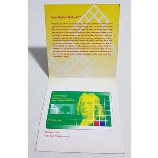 Tech Month 97 Isaac Newton Limited Edition MRT Card (Postage Included)