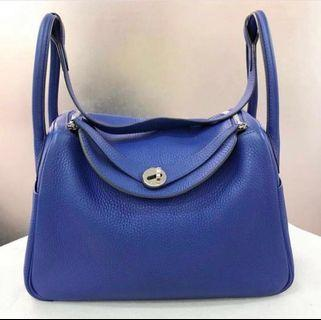 Hermes Lindy 30 Electric Blue 🔥