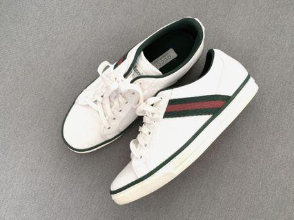 bb376c916 Authentic Gucci Canvas Sneakers