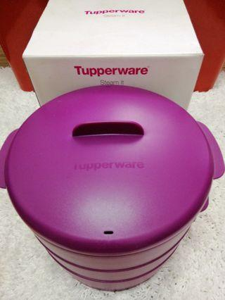 Preloved Tuppaware 3 Layer Steam it
