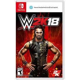 🚚 [Ready Stock]WWE 2K18 Nintendo Switch
