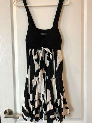 Black & white dress
