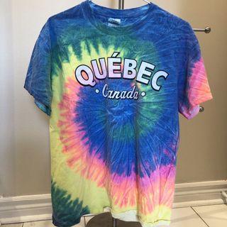 Quebec Tie Dye T-shirt