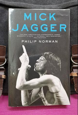 《BRAN-NEW ! + The Biography : Extraordinarily Detailed & Vibrantly Written In-Depth Account of the Life & Half-Century-Long Csreer of Mick Jagger》Philip Norman - MICK.JAGGER