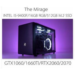 INTEL I5-9400F A4 SIZE SMALL FORM FACTOR GAMING CUSTOM DESKTOP PC WITH GTX1060/1660TI/RTX2060/2070(BUILD TO ORDER)
