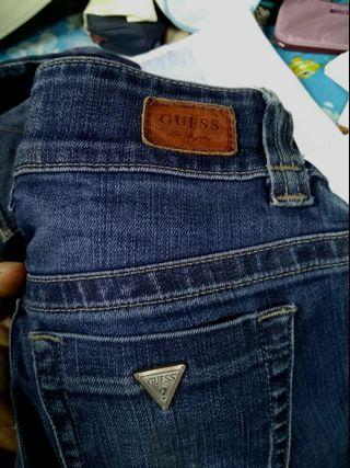 GUESS JEANS MADE IN MAXICAN #APR75