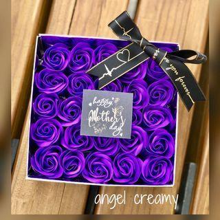 母親節禮物 肥皂花 燈盒 鏡盒 首飾盒