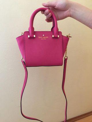 BRAND NEW Pink Kate Spade Bag