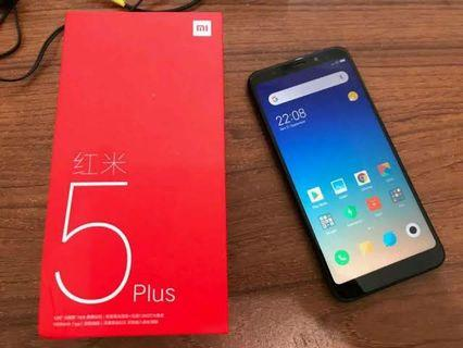 Xiaomi redmi 5 plus 4 / 64 gb black