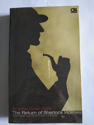 BEKAS Novel Kembalinya Sherlock Holmes by Sir Arthur Conan Doyle Kondisi Bagus