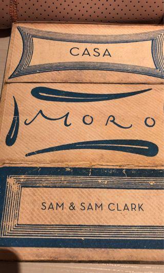 🚚 Cookbook - Casa Moro