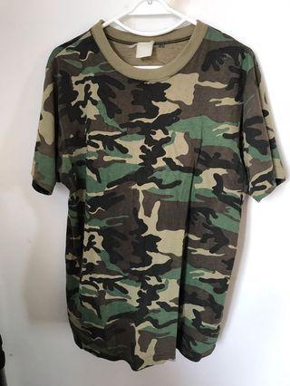 aaab911781b59 Woodland Camouflage Tee