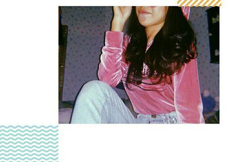 sweater velvet balenciaga