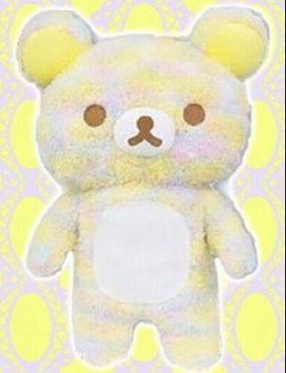 🚚 [BRAND NEW IN BAG] [AUTHENTIC] Rilakkuma marble rainbow plushie XL - #ENDGAMEyourEXCESS