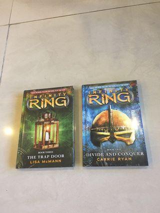 Infinity Ring - 2 great children's books