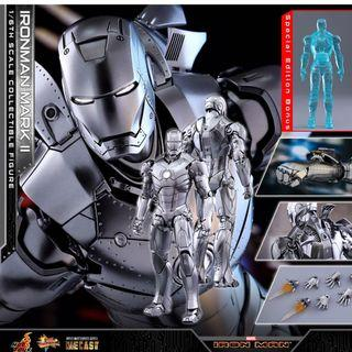 🚚 Hot toys Iron Man Mark 2 diecast Special edt