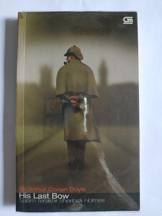 BEKAS Novel Sherlock Holmes His Last Bow by Conan Doyle Buku Detektif
