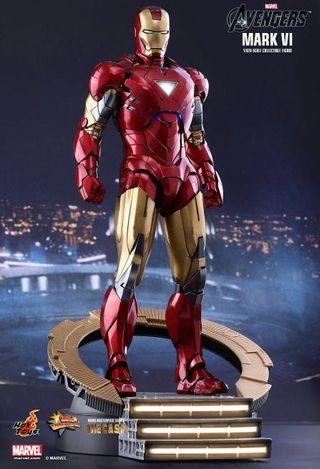 🚚 Hot Toys Iron Man Mark 6