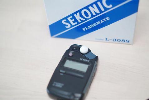 *reserved* Sekonic light meter L-308S
