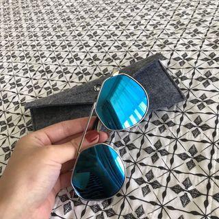 Dior style blue sunglasses 🕶
