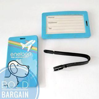🚚 FREE eneloop Luggage Tag with eneloopy Mascot Theme
