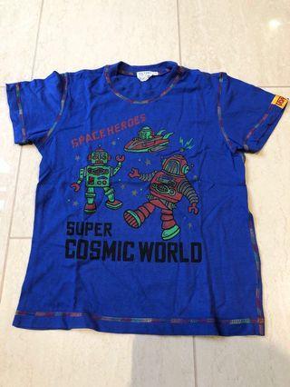 Japanese brand size 130 Space heroes Super robots short sleeve T-shirt #ENDGAMEyourEXCESS