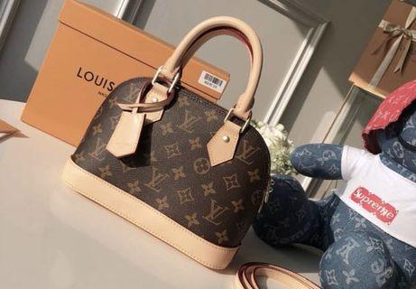 LV Monogram Canvas (100% Genuine leather) NEW FREE SHIPPING