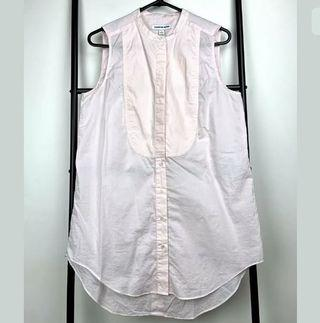 Country Road sz S soft baby pink pastel tank top tunic shirt