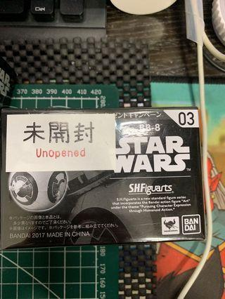 SHF Star Wars 星球大戰 原力醒覺 bb8 Rey 機械人 not mafex not hasbro not hottoys not figma not neca