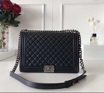 Chanel Boy Handbag (100% Genuine leather) NEW FREE SHIPPING