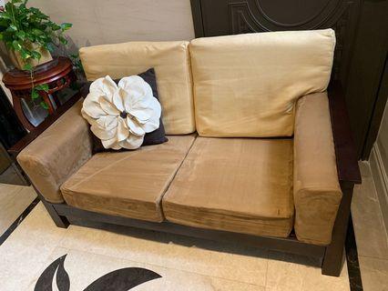 二人座沙發 不含抱枕
