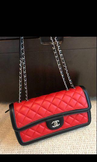 Chanel flag bag