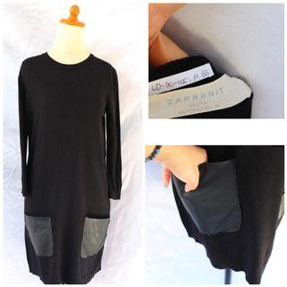 zara knit black