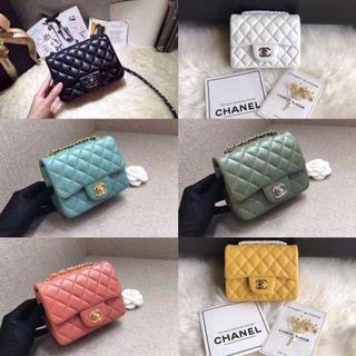 Chanel Mini Flap Bag (100% Genuine leather) NEW FREE SHIPPING