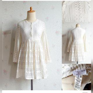mini dress/atasan lace