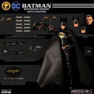 預訂 Mezco Batman: Sovereign Knight - Onyx Edition