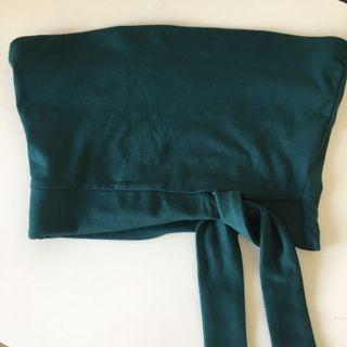 Kookai strapless top size 1