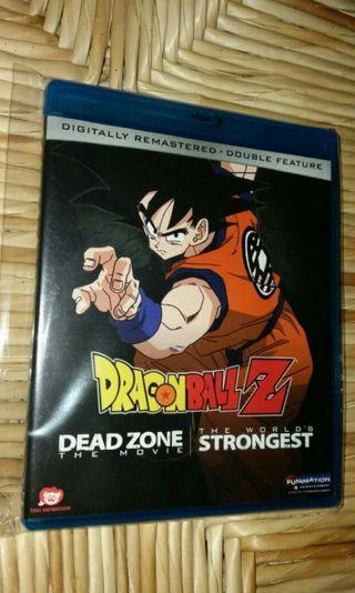 二手美版 Dragonball Z 龍珠Z  Bluray  BLU ray 藍光碟 電影版兩套 Dead Zone the movie, The World's Strongest