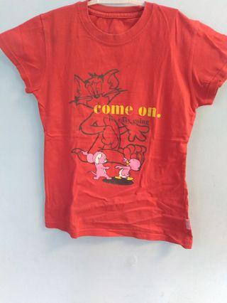 Kaos anak tom and jerry good condition