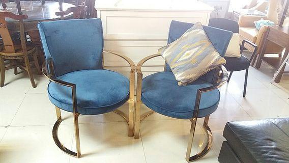 不銹鋼靚料餐椅(存有4張)