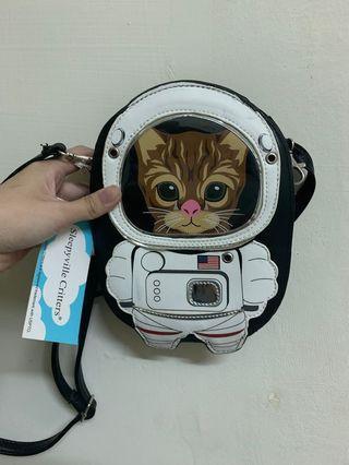 Pinkoi 貓咪小包