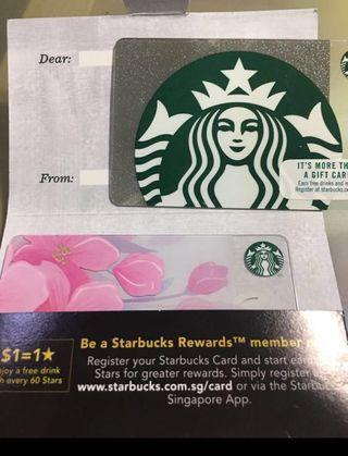 Starbucks Card (No stored value) Pin intact2 for $7