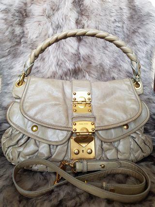 Authentic Preloved Miu Miu 2-Way Bag