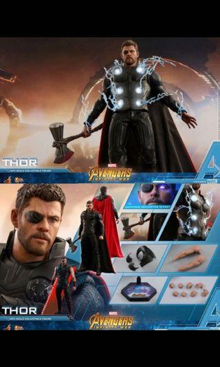 Hottoys Thor 雷神 復仇者聯盟3 avengers