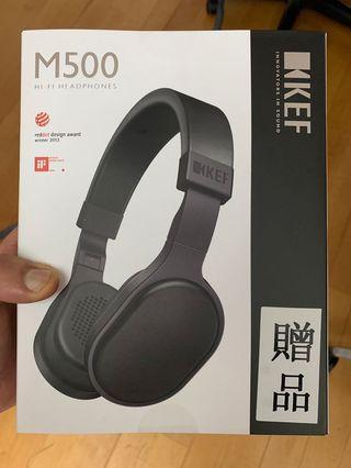 KEF M500 headphones (New and unopened)