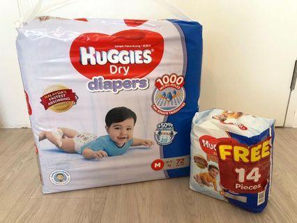 🚚 Huggies Diapers